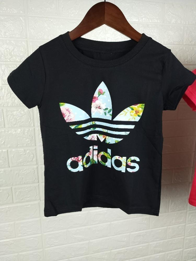 f10ba44a74c8 Adi New Men S And Women S T Shirts Can Do Parent Child Wear Lovers Wear  With Cotton Fabrics Printed Small Flowers Pattern 24 Hour T Shirt Rude  Tshirts From ...