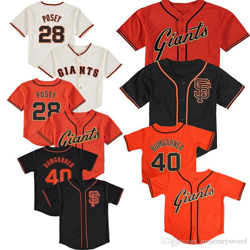 new style ab749 2bc41 Baby San Francisco Pat Venditte Jersey Evan Longoria McCutchen Brandon  Crawford Peter Maris Drew Ferguson Infant Baseball Jerseys