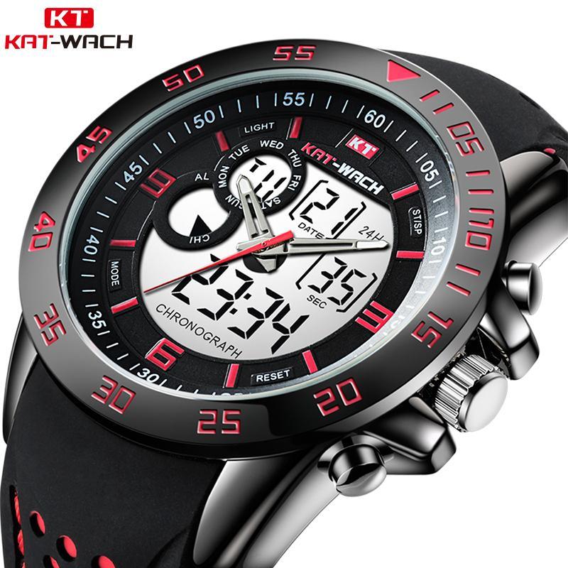 acdb6f06cad Compre 2019 Nova Chegada Marca De Luxo Homens Moda Relógio Do Esporte Para  Homens De Quartzo Analógico Relógio Masculino Relógio De Pulso Homem Relogio  ...