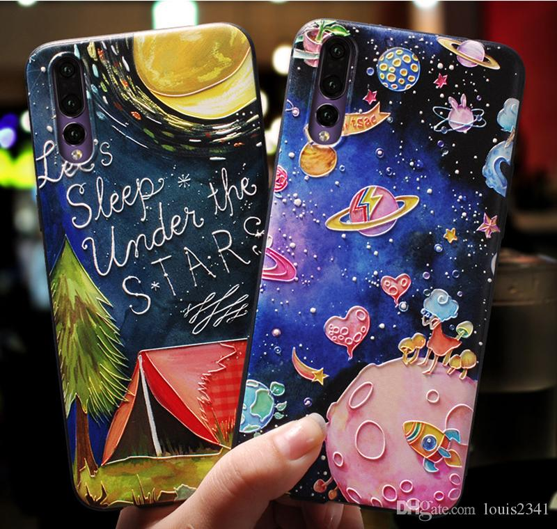 Fitted Cases United For Huawei P20 Lite Phone Case Soft Silicone Tpu For Huawei Nova 3e Back Cover Fashion Patterned For Huawei P20lite Bumper Capa The Latest Fashion Phone Bags & Cases