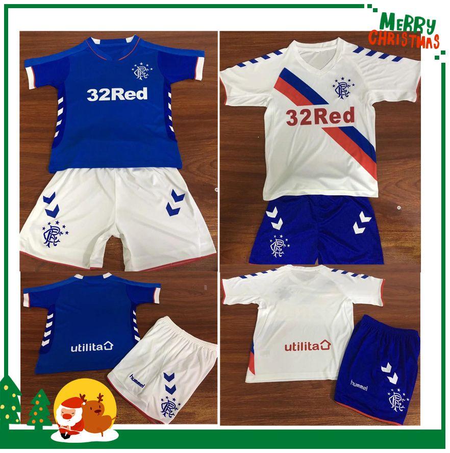 Thailand Quality Glasgow Rangers Soccer Jersey 2018 Ranger 18 19 Home Away  Jersey Football Kit Soccer Shirt Scottland Premiership Jersey UK 2019 From  ... 1029d78f7