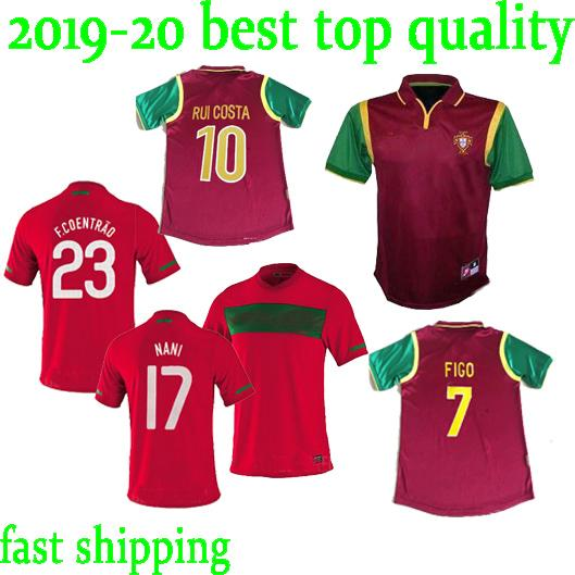 ec5b41d37 2019 2010 Portugal 1998 Retro Soccer Jerseys Home FIGO RONALDO Nani HOME  RED 98 99 10 11 JERSEY FOOTBALL SHIRTS From Wuqiliaang5678, $17.26 |  DHgate.Com
