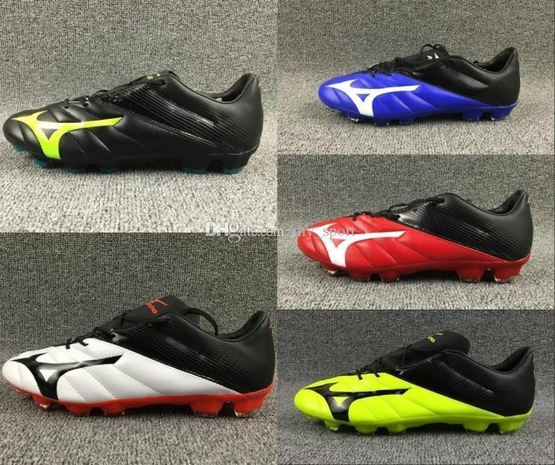 quality design 58946 eb6a6 New Mizuno Neo Ii Fg Soccer Shoes Boys Maillots De Football Boots Soft  Leather Indoor Ourdoor Youth Cleats Chaussures 39-45