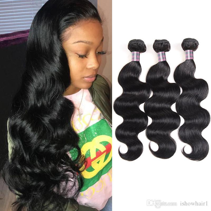 8-28inch Brazilian Body Wave Human Hair Bundles 3/4/5pcs Mink Peruvian Straight Hair Extensions Unprocessed Virgin Hair Weave Bundles