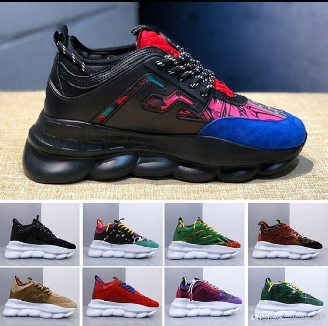 f024fb0ceb2c Running ACE Luxury Chainz Chain Reaction Love Sneakers Sport Fashion ...