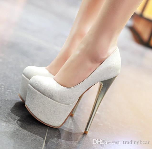kutu küçük büyük boyutta 30 46 47 48 ultra yüksek topuk pembe mavi beyaz gelinlik Ayakkabılar 16cm moda lüks tasarımcı bayan ayakkabı 45 ile