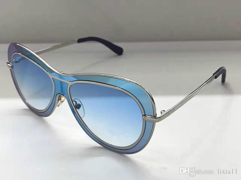 Compre Z0902 Mulheres Marca Óculos De Sol Z090 Moda Oval Óculos De Sol Uv  Lente De Proteção Do Revestimento Do Espelho Lente Sem Moldura Cor Quadro  Banhado ... 67c6b46c83