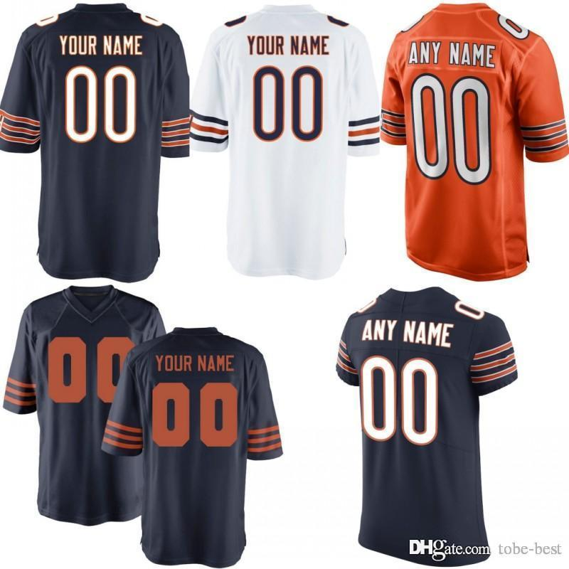 the latest a94fb 210fe Custom Men Youth Women Chicago Khalil Mack Mitchell Trubisky Allen Robinson  Kyle Long Taylor Gabriel Kevin White Bears Elite Game Jersey