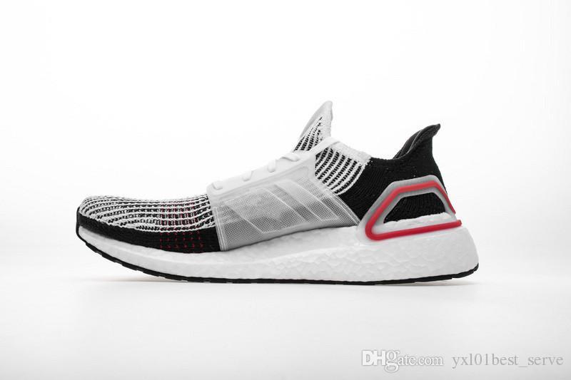 new style 31ad9 a645f Compre Calidad Original Ultra Boots 19 5.0 Blanco Rojo Primeknit 360  Zapatos Para Correr De Calidad Superior UB 5.0 Entrenadores Deportivos  Hombres Mujeres ...