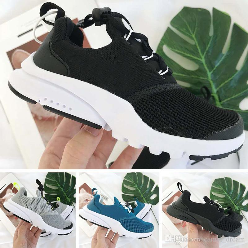 prix le plus bas 8e420 4da43 Nike Presto React Vente Pas Cher Enfants Sneakers Presto 90 Chaussure Sport  Enfants Chaussures Pour Enfants Baskets Infant Filles Garçons Running ...