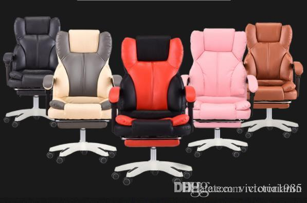 Hot sell High Quality Office Boss Chair Ergonomic Computer Gaming Chair Internet Cafe Seat Household Reclining Chair