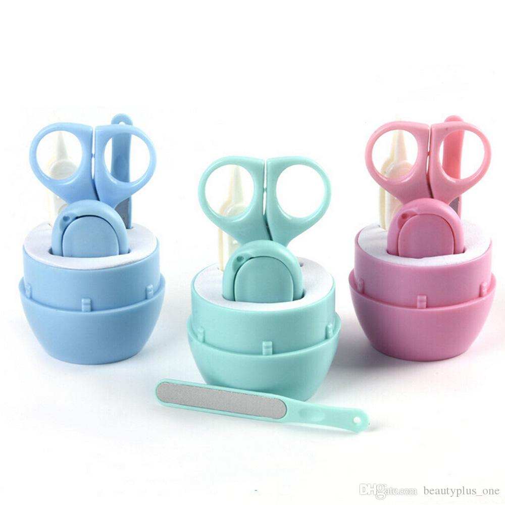 0fdb1ba3c6b2 Lovely Baby Nail Care Set Child Scissors Practical Baby Nail Clipper  Trimmer Convenient Daily Baby Nail Shell Shear Manicure Kit French Nail Set  French ...