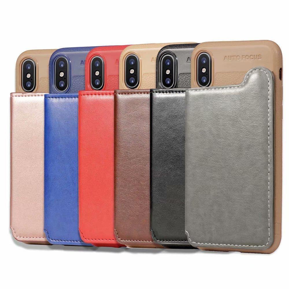 iphone xs max flip case magnetic