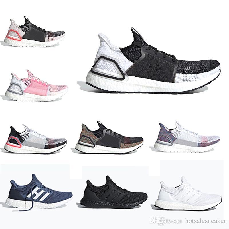 e34946ce89e8 2019 High Quality Ultra Boost 4.0 3.0 Triple Black White Primeknit Red  Parley Men Women Running Shoes Boost Bottom Primeknit Runs White Sneakers  Sale Womens ...