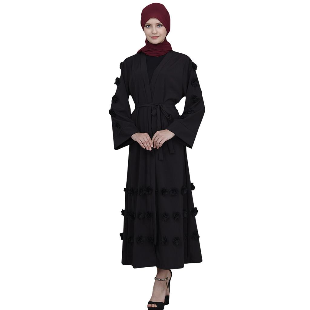 Tunique Rouge Bleu VêtementsM6y Jubah Hijab Abaya Kimono Femmes Dubai Jaune Noir Musulmane Kaftan Robe Longue Islamique Vert Blanc Pn8Owk0
