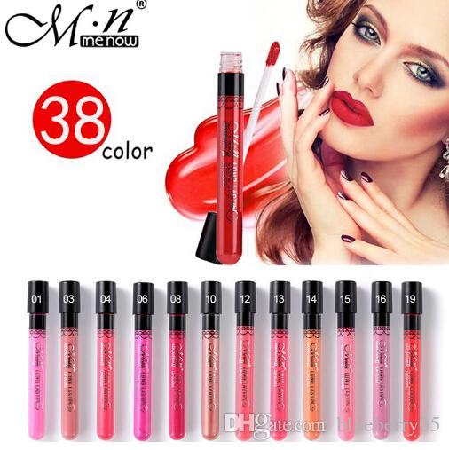 6012fa94b0 Menow Makeup Matte Lipstick Long Lasting Moisturizer Sexy Lip Gloss ...