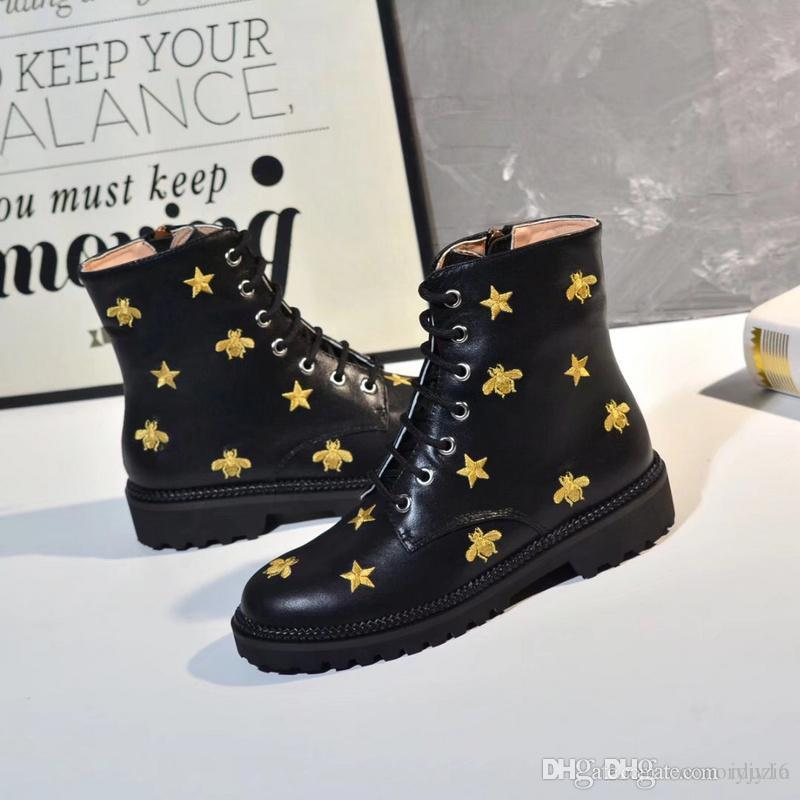 buy online 526c2 e7739 Winter women waterproof Gold silver rivet outdoor boots red bottom brand  genuine leather warm ankles casual Martin boots hiking sports shoes