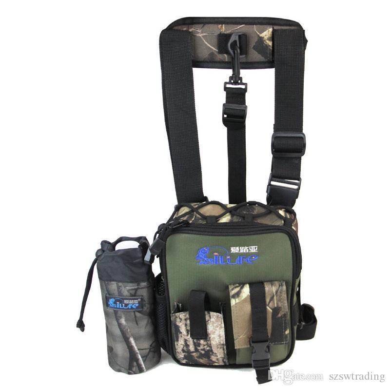 Ilure Fishing Leg Waist Bag Multi-pocket Outdoor Fishing Tackle Bag Pack Waterproof Belt Bag Bolsa Fishing Tools Storage Pouch Security & Protection