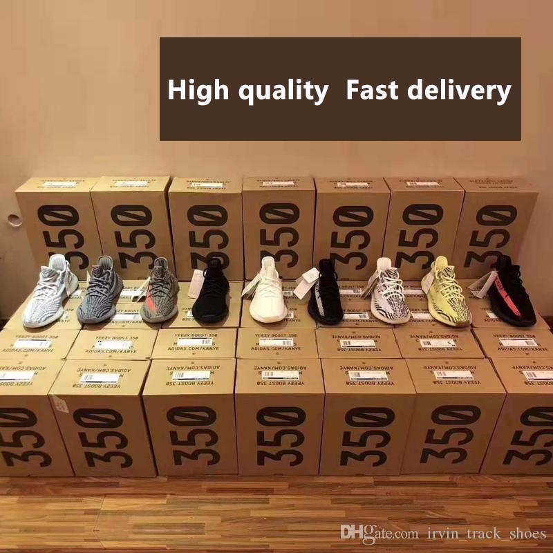 90ad0847d5861 With Box Top Quality Static Yeezys Yezzy Yezzys Yeezy 350 Best Quality Kanye  West Men Running Shoes Hyperspace True form Clay Butter Sesame Zebra Cream  ...