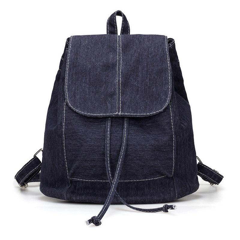Simple Fashion Korean Women Backpack Canvas Bag Solid Color Big Capacity  For Travel Casual Ladies Girls School Bags Fab Camera Backpack Back Packs  From ... 0953018113d0c