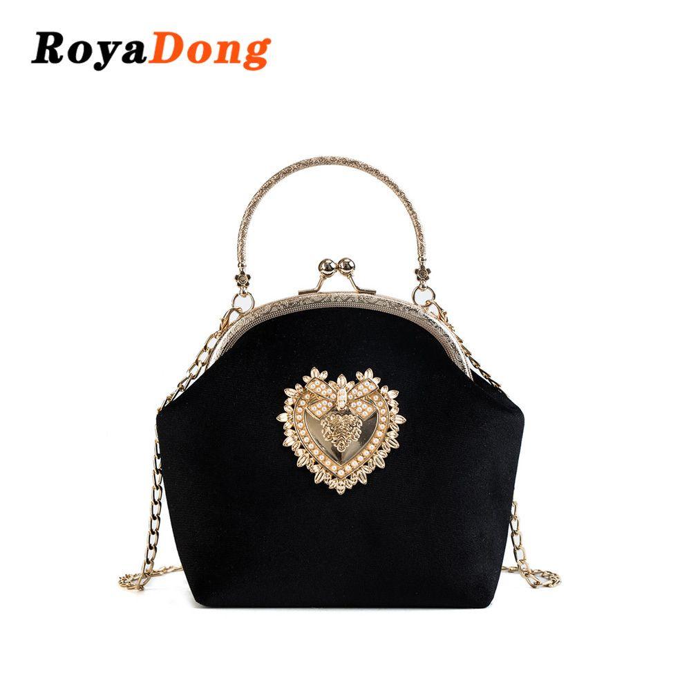 e1ab9ed533a6 2019 Fashion RoyaDong Brand 2018 Design Handbag Women Shoulder Bags Fashion Tote  Bag High Quality Chain Crossbody Bag Ladies Evening Package Wholesale Bags  ...
