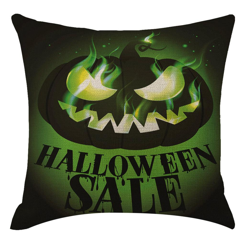 Halloween Pumpkin Pillow Cover Pillowcases Home Bedroom Office Decorative Cushion Cover Sofa Bed Car Seat Throw Pillow Case