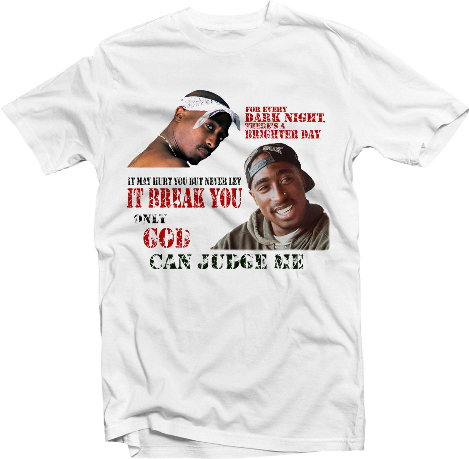 568d95991 2Pac Tupac Shakur Only God Can Judge Me Mens T ShirtClassic Quality High T  Shirt Cool Tee Designs Tees Shirts Cheap From Eightcup, $16.24| DHgate.Com