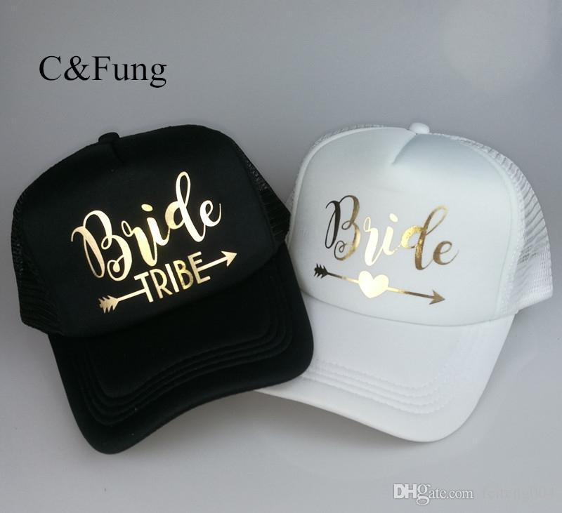62c0b4a3314 C Fung Bride Tribe Bachelorette Snapback Trucker Hat Cap Team Brides ...