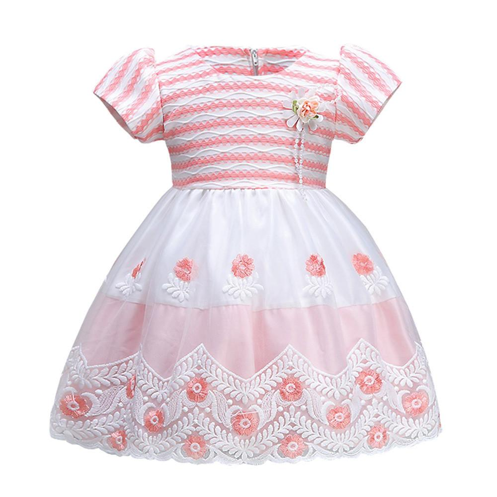 526af960ff Compre Boda Pageant White Flower Girl Rattail Edge Tul Vestido De Bola  Roupa Infantil Vestido De Princesa Vestido Vestido De Verano A  26.71 Del  Bosiju ...