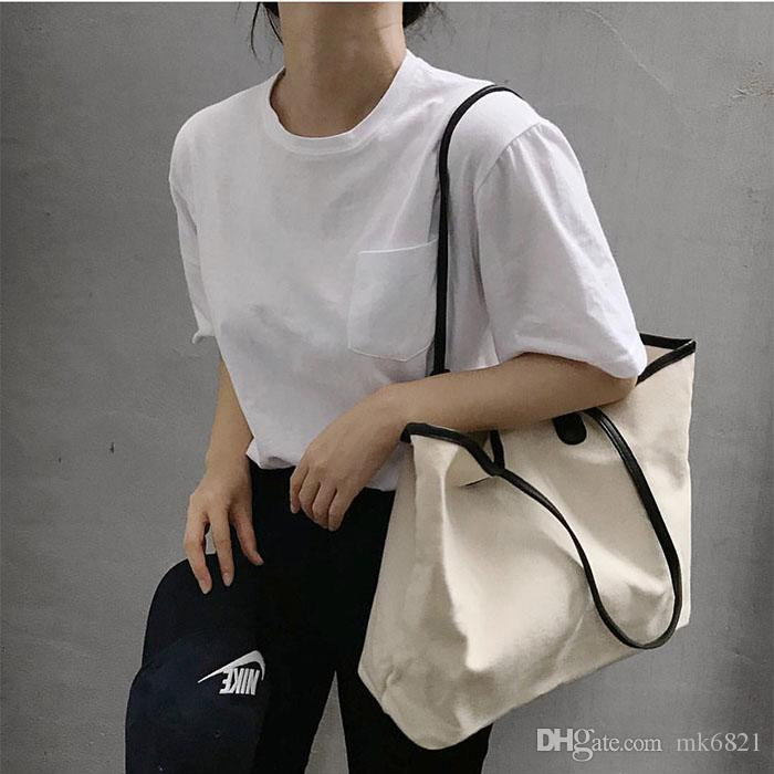 NEW Classic white logo shopping mesh Bag with ribbon classic pattern Travel Bag beach Women Wash Bag Cosmetic Makeup Storage mesh Case