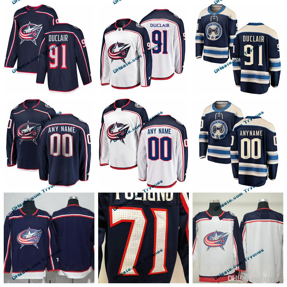 adc473c3 ... promo code 2019 columbus blue jackets anthony duclair stitched jerseys  customize home new alternate shirts 91
