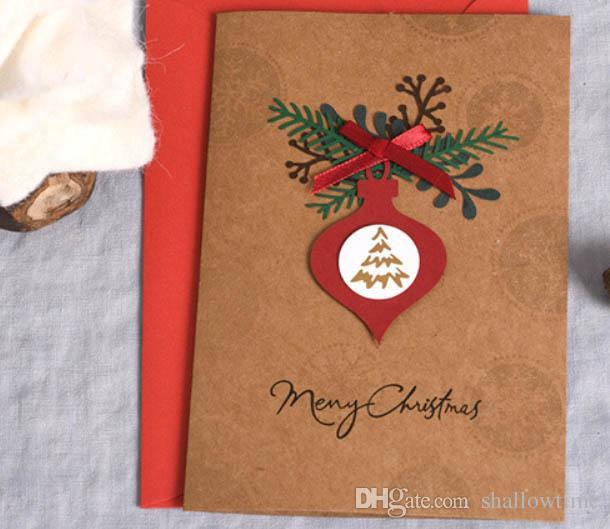 Christmas Card Korean Creative Surface Three Dimensional Christmas