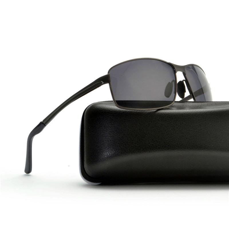 aaeba3e7dc Compre Gafas De Sol Graduadas Cuadradas Mujeres Diseñador De Lujo De Gran  Tamaño Gafas De Sol Polarizadas Gafas De Conducción De Degradado Damas FML A  ...