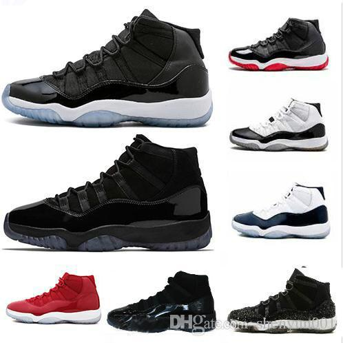 b55903705a37 Concord 11 High 45 XI 11s Bred Cap And Gown PRM Heiress Gym Chicago  Platinum Tint Space Jams Men Basketball Shoes Sports Sneakers Buy Shoes  Online Discount ...