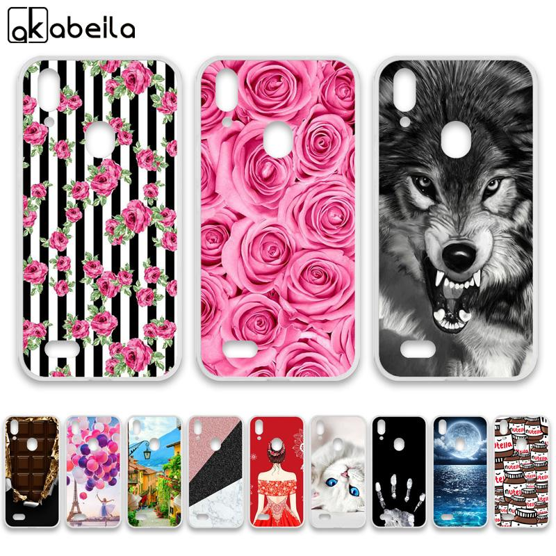 Fitted Cases AKABEILA Phone Cases For Leagoo M11 Case Silicone Nutella Flamingo Bumper For Leagoo M11 Covers Fundas Coque Skin Housing Bag