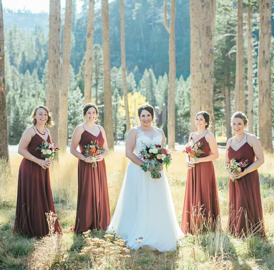 4e53e1dde5 2019 Burgundy Maroon V Neck A Line Bridesmaid Dresses Sleeveless Chiffon  Cheap Custom Wedding Guest Dress Maid of Honor Gowns
