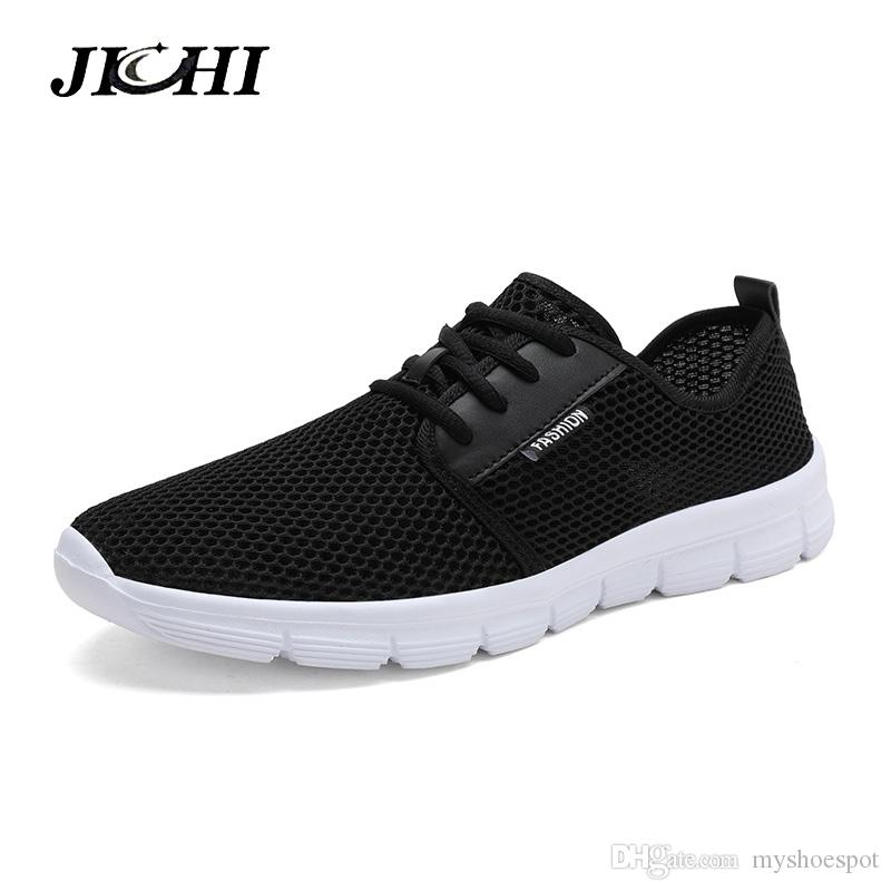 2019 Man Sneaker Male Fashion Casual Air Mesh Sports Track Shoes For Men Trainers Non-slip Outdoor Light Breathable Loafers Men's Shoes