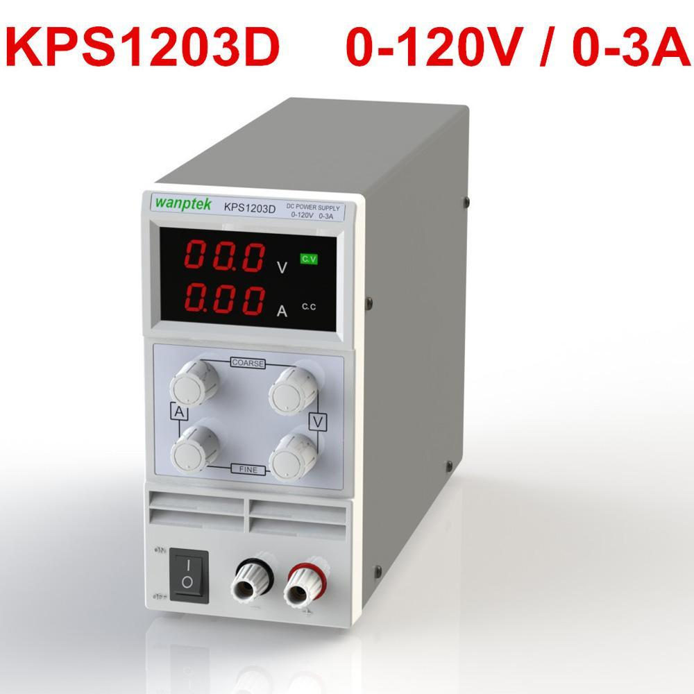 Mini adjustable DC power supply 110V/220V regulated output voltage 0~30V output current 0~3A Switching Display 3 Digits LED