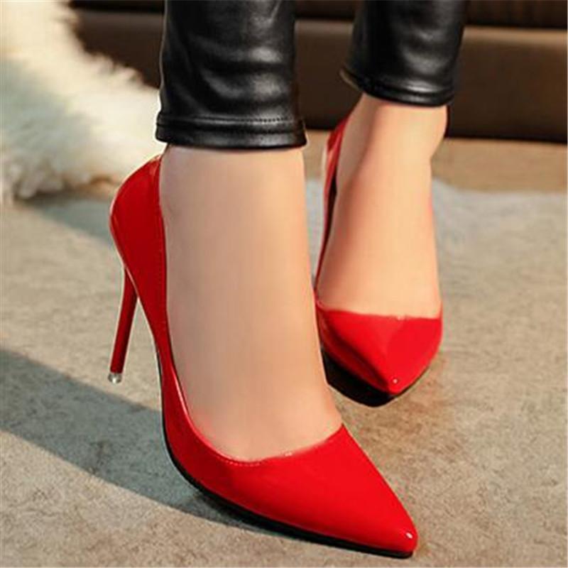 c6db2c5f8b Compre Sapatos Baratos MVP MENINO Mulher Sapatos De Salto Alto Bombas De  Salto Alto Vermelho 10 CM Mulheres Bombas De Casamento Preto Nude Atacado  Sapatos ...