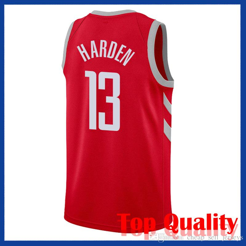 best sneakers df92d 9ef13 3 Paul Rockets jerseys 13 Harden7 Anthony Jersey basketball Jersey men fans  clothes printed top