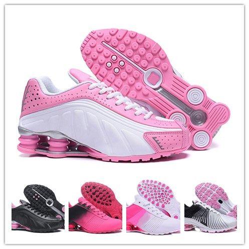 6d06f96255f Compre Moda Mujeres Clásico Marca Nike Shox Tlx Avenue Entregar Oz  Zapatillas Deportivas Entrenador Deportivo Cojín Femals Chaussures Femme  Sneakers A ...