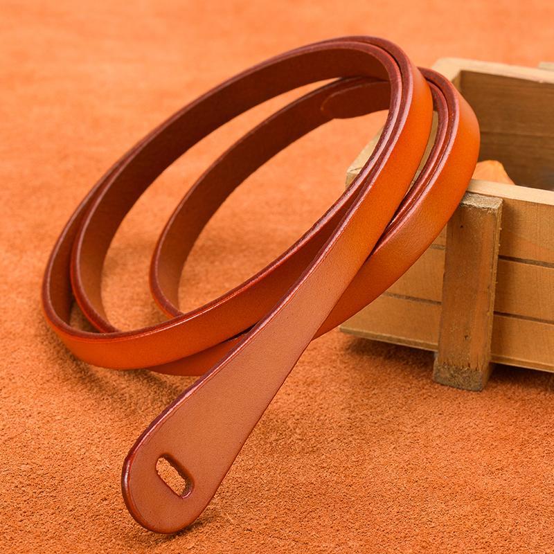 bce67c3f8 Thin Leather Belt Female Waist Belts Women Dress Strap Women's Belts ...
