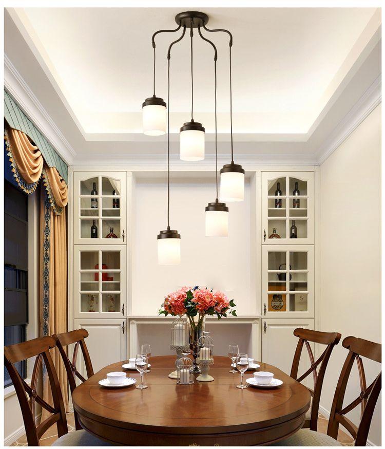JESS Nordic LED Lighting Modern Living Room Lamps Simple American ...