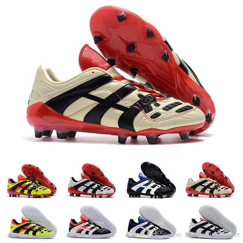 290c64a90ff 2019 Men Soccer Shoes Mercurial Superfly Predator 18+X Pogba FG Accelerator  Electricity ACE 18.1 Mens Football Boots Designer Sneakers 39 45 Australia  2019 ...