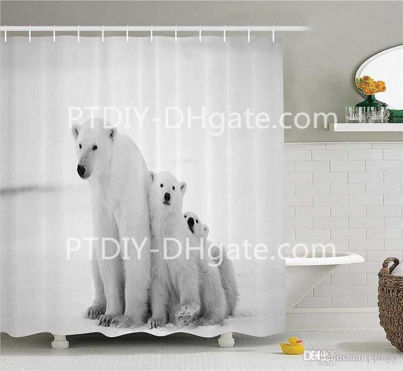 Cheap Shower Curtains Custom Best Red