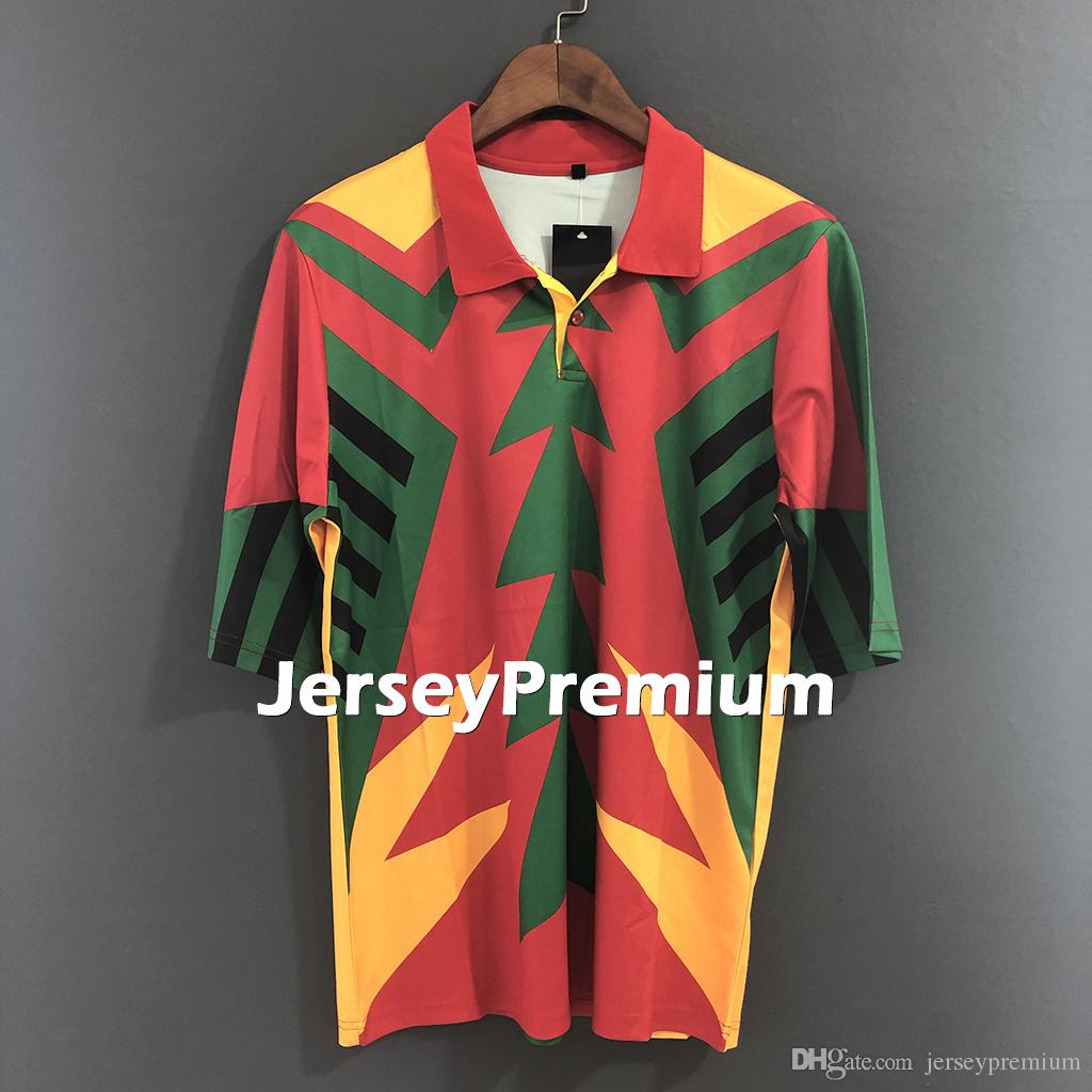 c4a4e4b82 2019 Mexico Retro 1994 Goalkeeper Football Soccer Jerseys Shirt Jorge Campos  From Jerseypremium