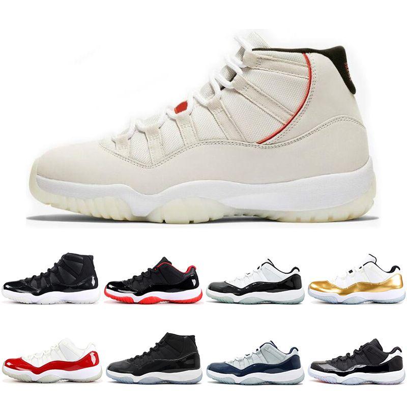 18ae2640d43f70 Scarpe Fila Nike Air Jordan 11 11s 2019 11 11s Berretto Concordato E Abito  Uomo Donna Scarpe Da Basket 72 10 GAMMA BLU Platino Tinta Scarpe Sportive  Sneaker ...