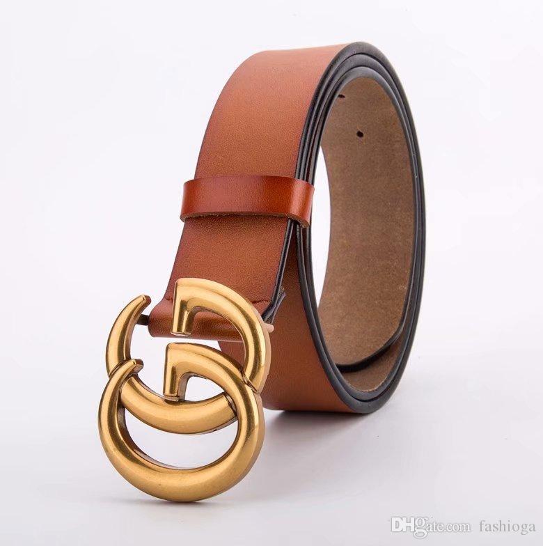 0478f673f2773 G# Top Buckle Genuine Leather Belt Designer Belts Men Women High ...