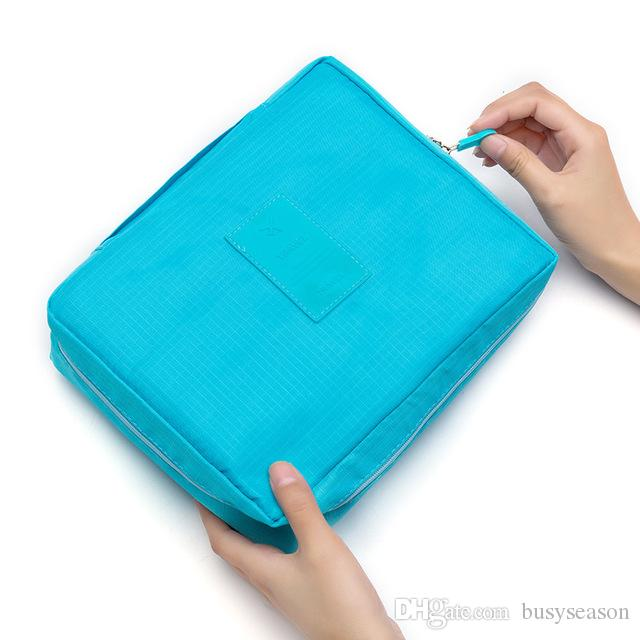 fe0dab91aaa2 Hot Sale Multifunction Travel Cosmetic Bag Women Makeup Bags Toiletries  Organizer Waterproof Female Storage Make Up Cases Online with $6.86/Piece  on ...
