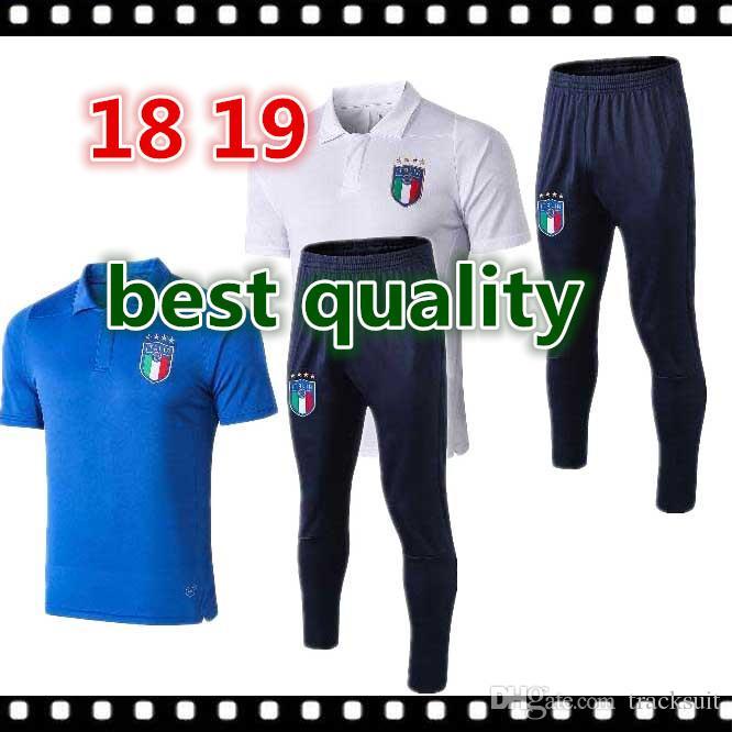 a9e33594535c3 18 19 Camiseta De Uniformes De Fútbol Italia INSIGNE ZAZA EL ...
